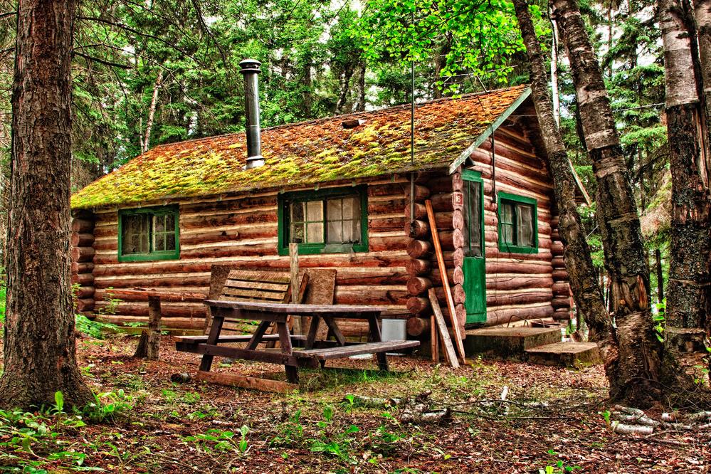 Restored Old Log Cabin